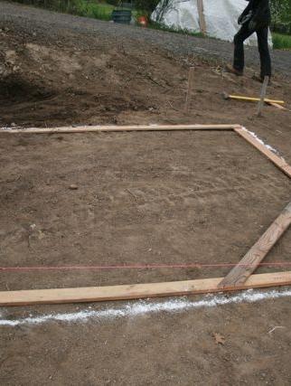 Creando los cimientos paso a paso